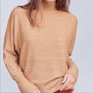 Out From Under UO • Amelia Mock Neck Sweater